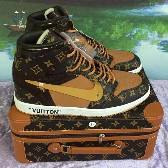 6d6eb4baa41 Louie Vuitton x Off-White x Jordan 1 NWT